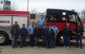 New County Truck Delivered to Cedar Springs, March 2009